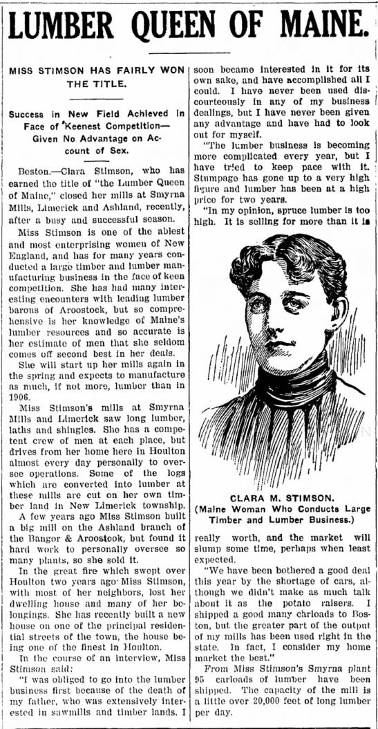 Newspaper Clipping of Grand Niece of Wife of 2nd Cousin 4x Removed. -