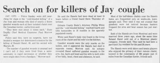 Hanel murder -
