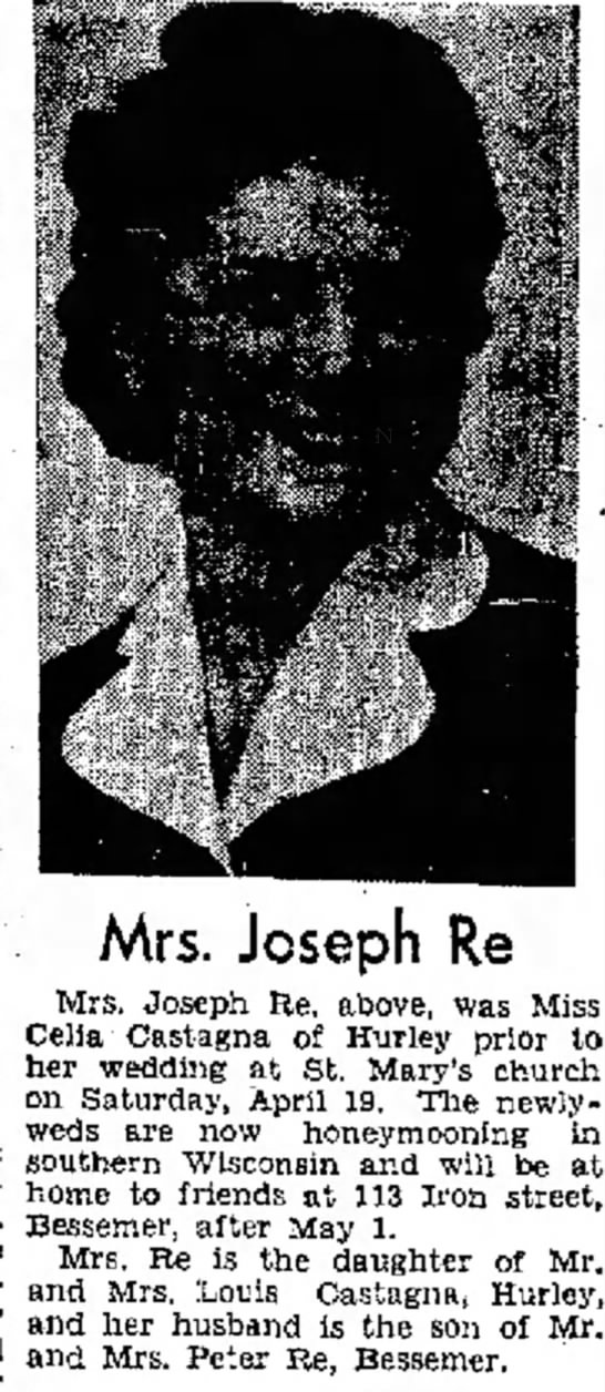 Ironwood Daily Globe, Tuesday April 22, 1941. -