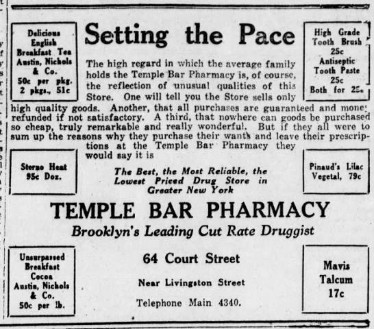 Bklyn Daily Eagle, 13 June, 1920 -