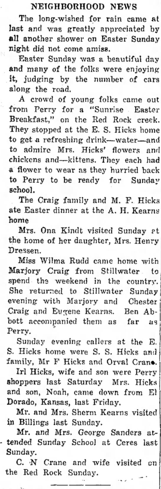 The Perry Journal 4/16/1925 -