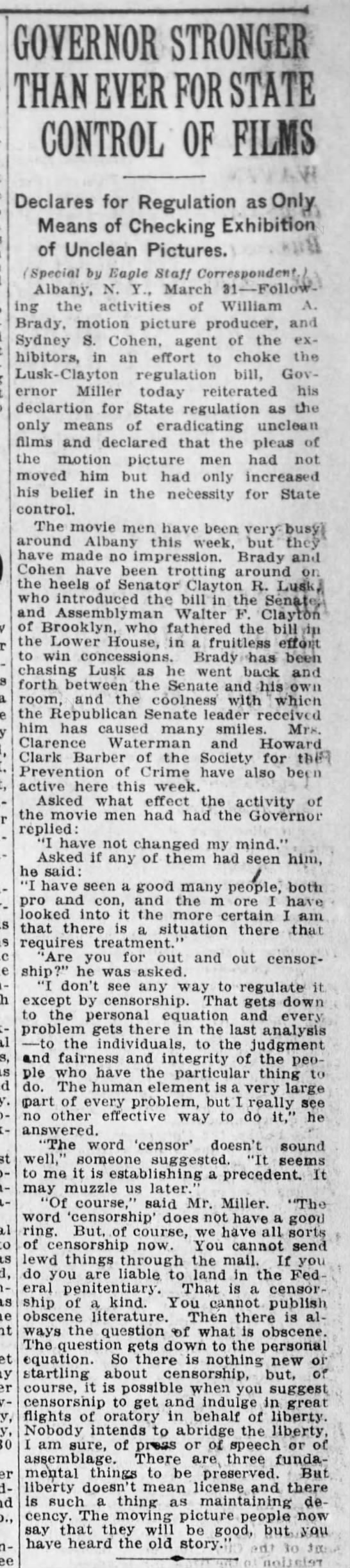state control of films-3-31-1921-brooklyn-daily eagle -