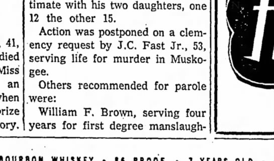 J.C.Fast, Jr, 13 Dec. 1960, Miami Daily News-Record (Miami, Oklahoma) -