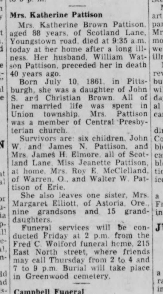 New Castle News (New Castle, PA), Wednesday, 10 August 1949 p2 c5 -