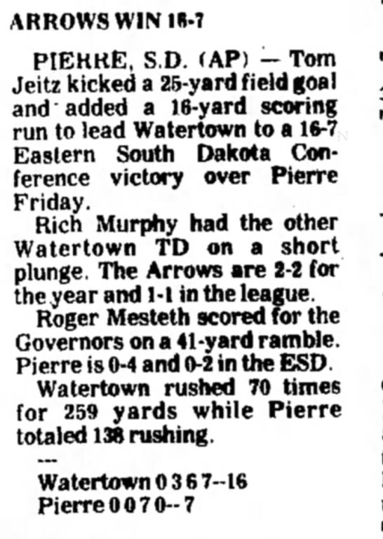 The Daily Republican, Mitchell SD, 27 September 1975 -