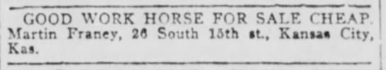Kansas City Times 4 Jan 1909 pg 11 -