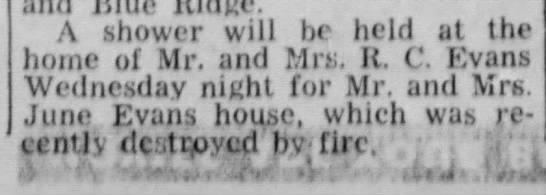The Fourth Mrs. R. C. Evans, Jr is entertaing in McKinney, Texas  06Jan 1951 -