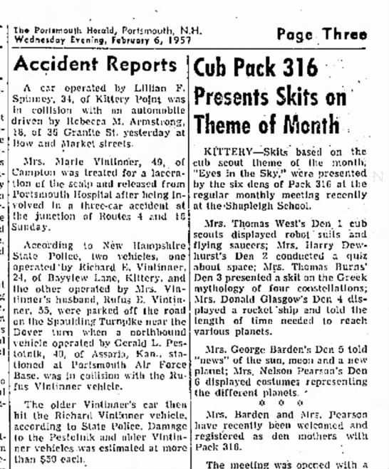The Portsmouth Herald, 06 Feb 1957 - Newspapers com