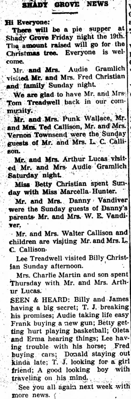 Lee Treadwell and Mr and Mrs Treadwell