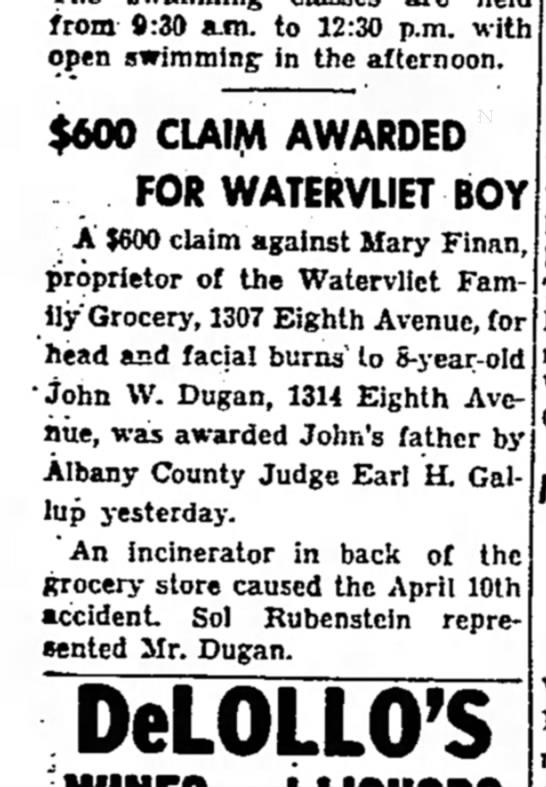 1307 Eighth Avenue Mary Finan -