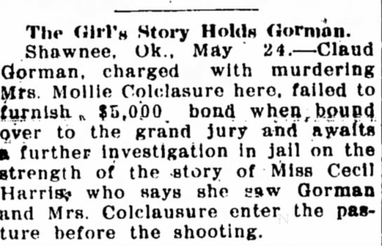 Mollie Colclasure Murder
