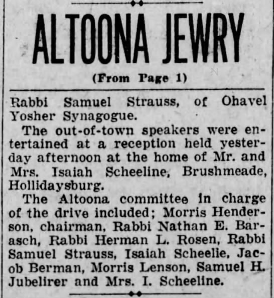 Jewry drive-Morris- 7 March 1927 -