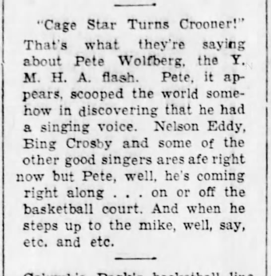Pete can sing-12 Dec 1936 -