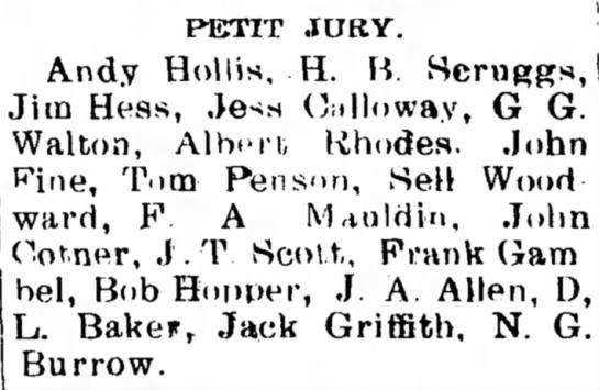 John CotnerJan 20, 1911The Star Gazette (Sallisaw) -