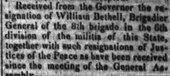Our William Bethell? -