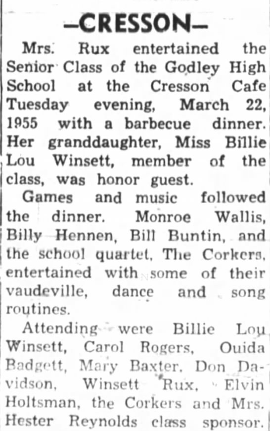 Ocie Rux