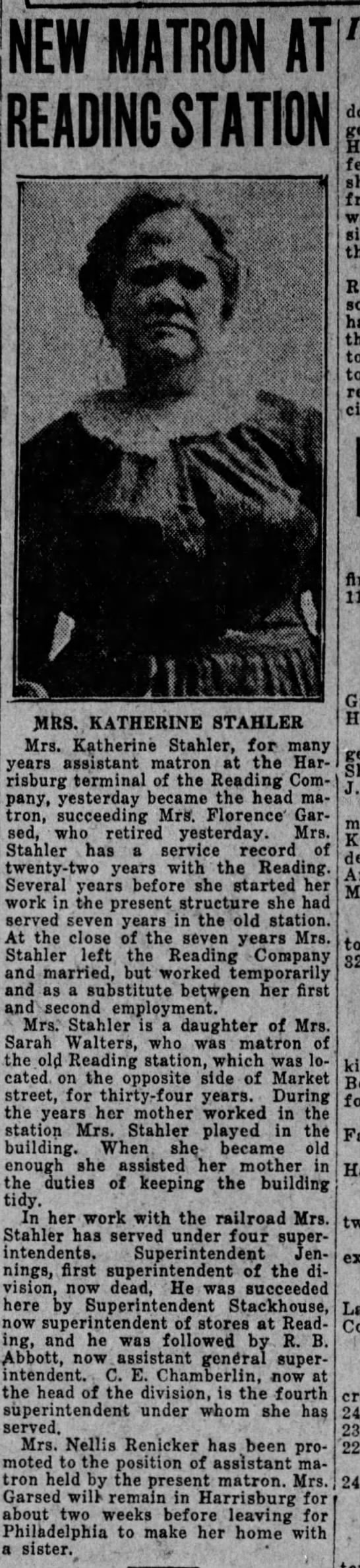 the evening news harrisburg sep 2 1926 katharine stahler -