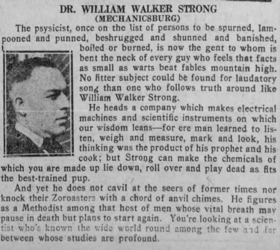 William Walker  Strong -