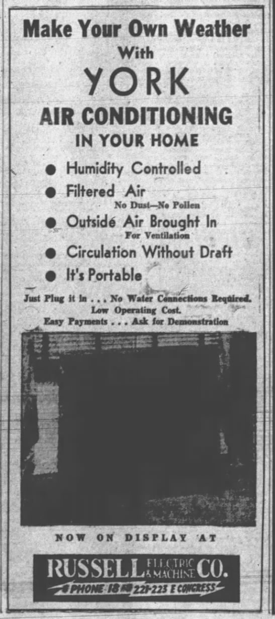 Portable air conditioners for sale - 1936 -