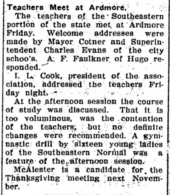 Mayor Cotner (Find who was Mayor)