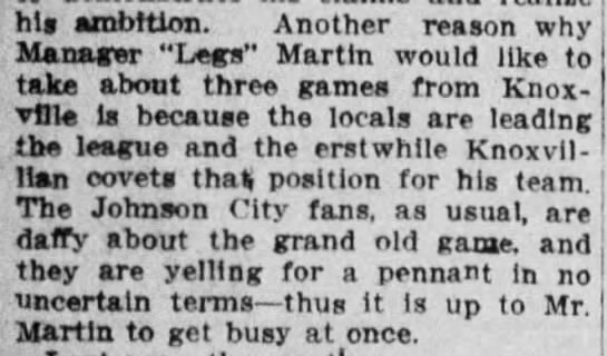 Knoxville Sentinel May 19 1913 -