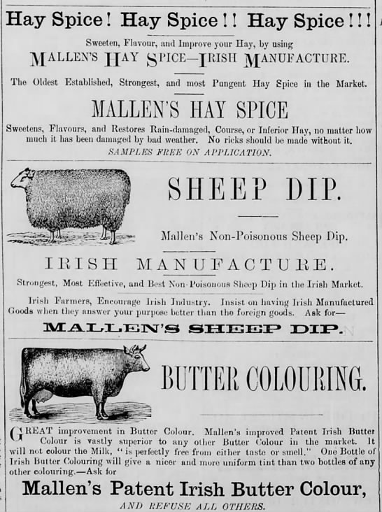 Agricultural ads -