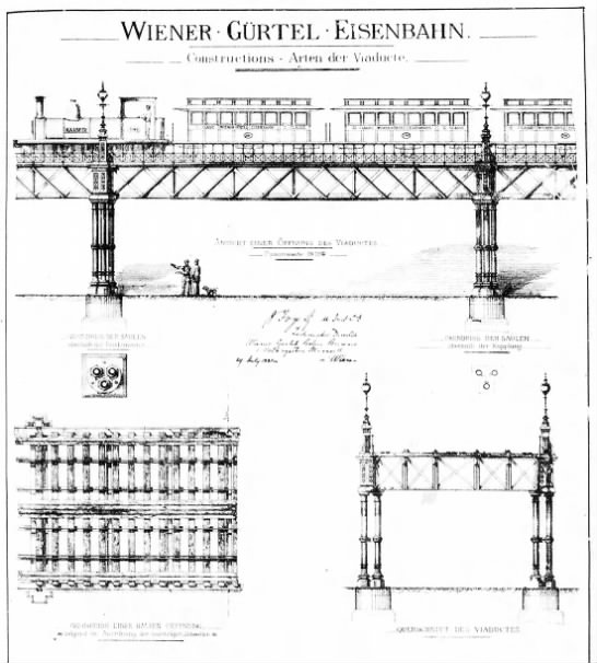 Viaduct design, in German -