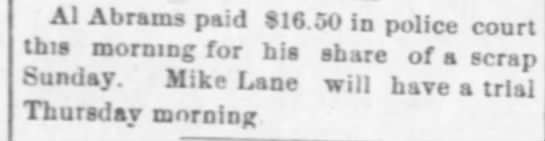 another mike lane scrap -