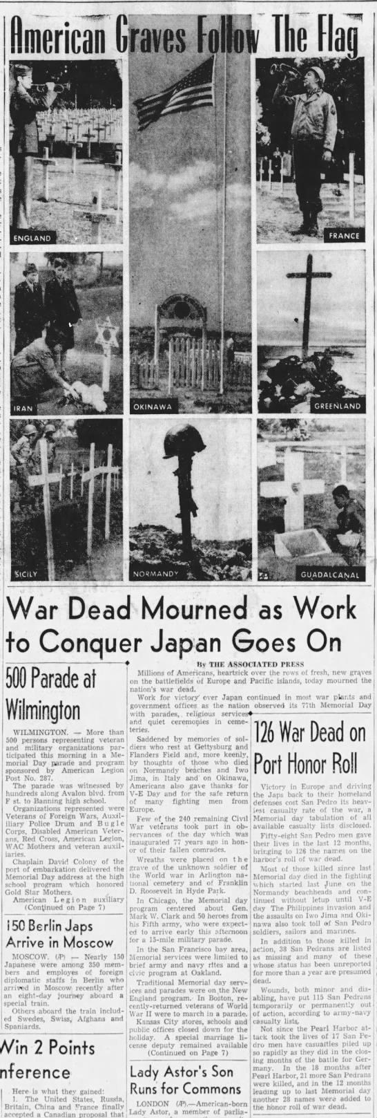 Americans Mourn Around the World -