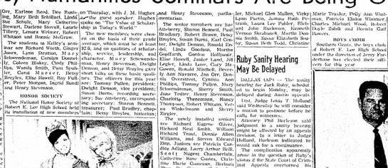 Bobby Zubik -- REL Honor Society Member -