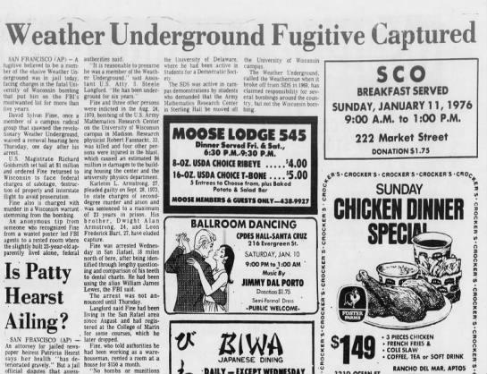 SC Sentinel, January 9, 1976Weather Underground  -