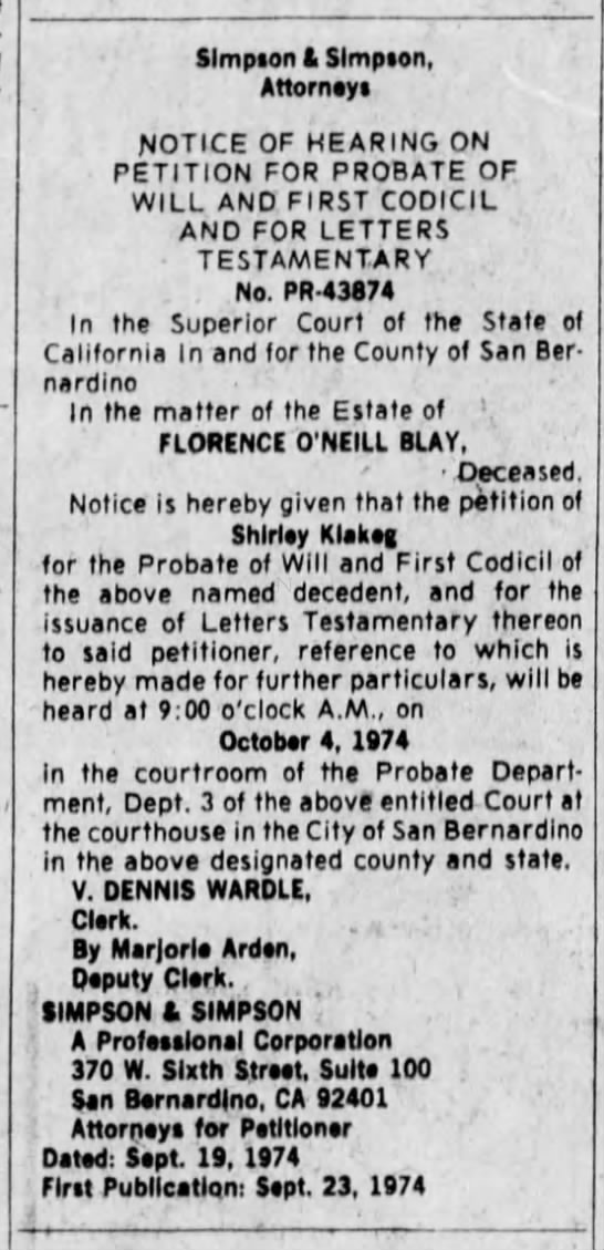 The San Bernardino County Sun (San Bernardino, CA) newspaper - 24 Sep 1974 - Pg. B10 -