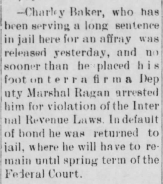 Watauga Jail inmate -