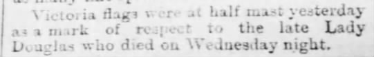 (untitled) The Vancouver Daily World (Vancouver, British Columbia, Canada) 10 January 1890, p 1 -
