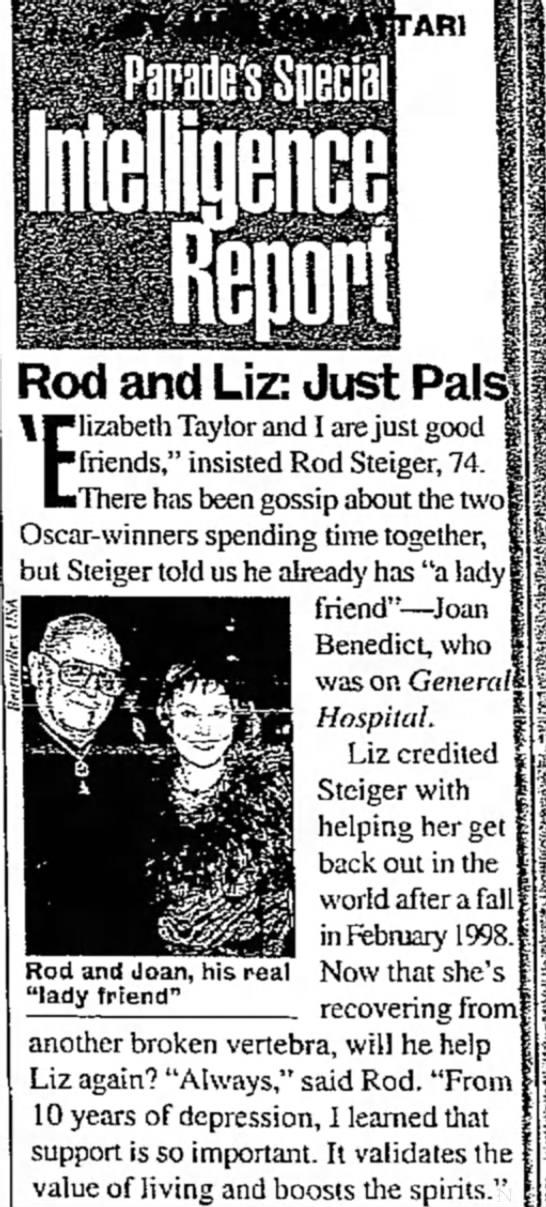 Rod and Liz -