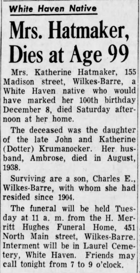 Standard Speaker, Monday, July 19, 1965, page 22 -