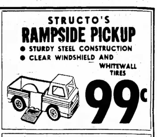 structo rampside 1966 -