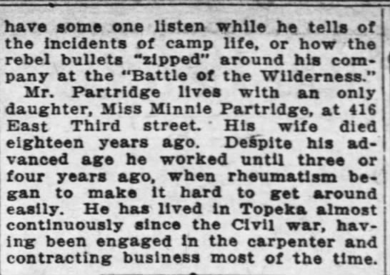 ER Partridge 1 Apr 1917 Topeka Daily Capital, page 24_column 2 -