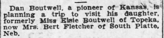 Elsie Boutwell 10 May 1911 page 6 Topeka Daily Capital -