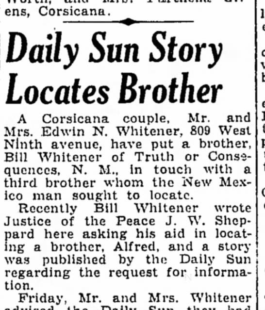 Corsicana Semi-Weekly Light Corsicana, Texas