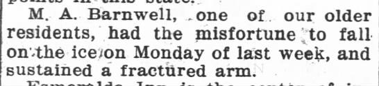 1918-1-31 MA BARNWELL FALLS -
