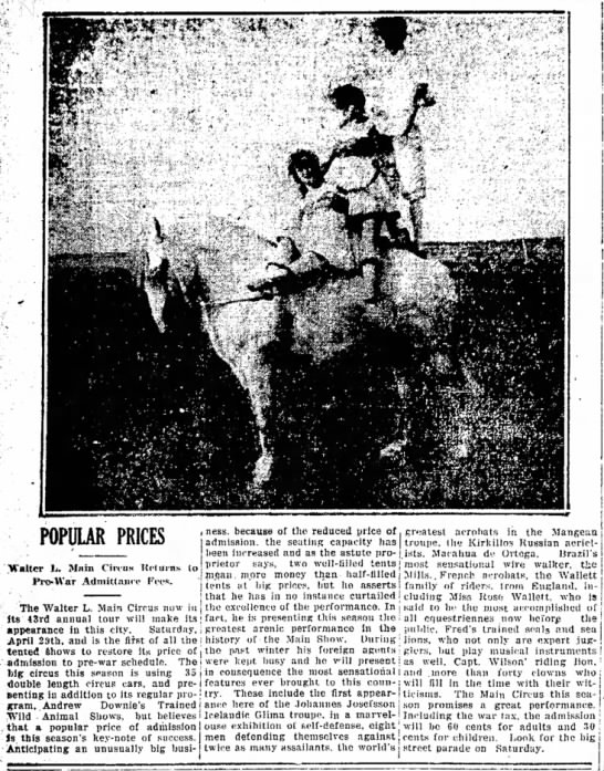 Downie Main Article 