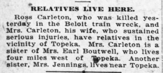 Ross Carleton 16 Jan 1918 page 10 Topeka Daily Capital -