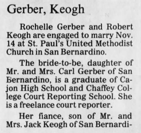 Rochelle engaged 1 - Newspapers com