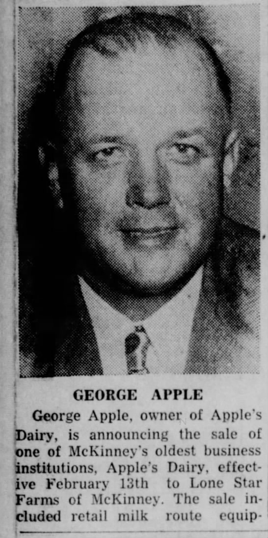 George Apple -