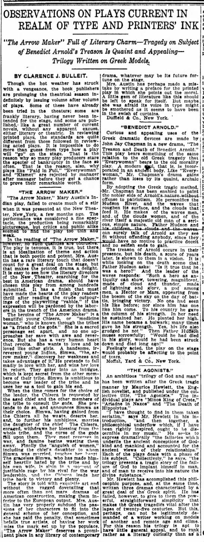 CJ Bulleit, 28 May 1911, Indianapolis Star, p70 -
