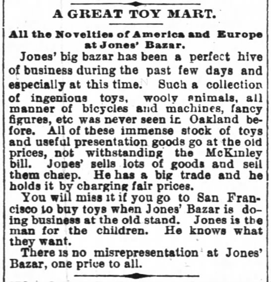 A Great Toy Mart -