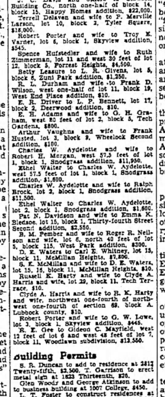 Sept 15, 1950 CW Aydelotte -