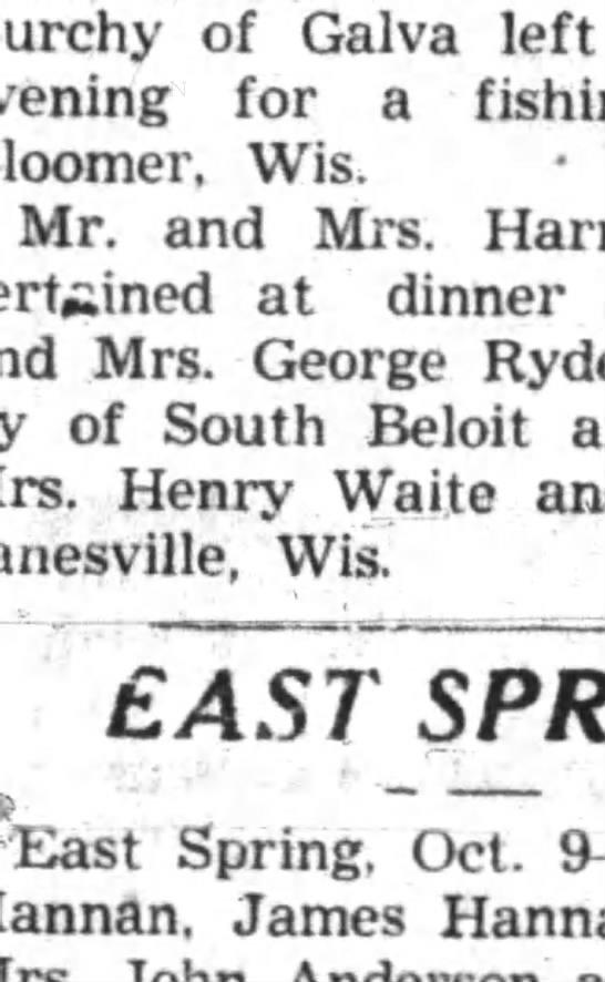 Republican-Northwestern Newspaper Oct 12, 1937 -