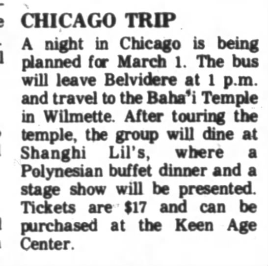 Group tours Baha'i Temple in Wilmette -